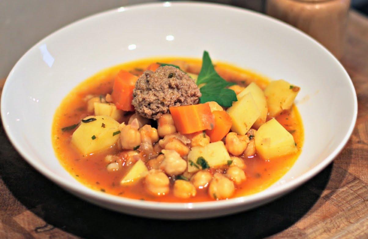 Rezept für Marokkanischer Kichererbseneintopf - köstlich und einfach nachzukochen