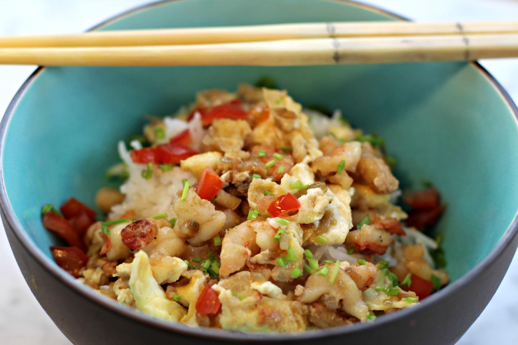 Shrimp Egg Foo Yong - Krabbenomelette