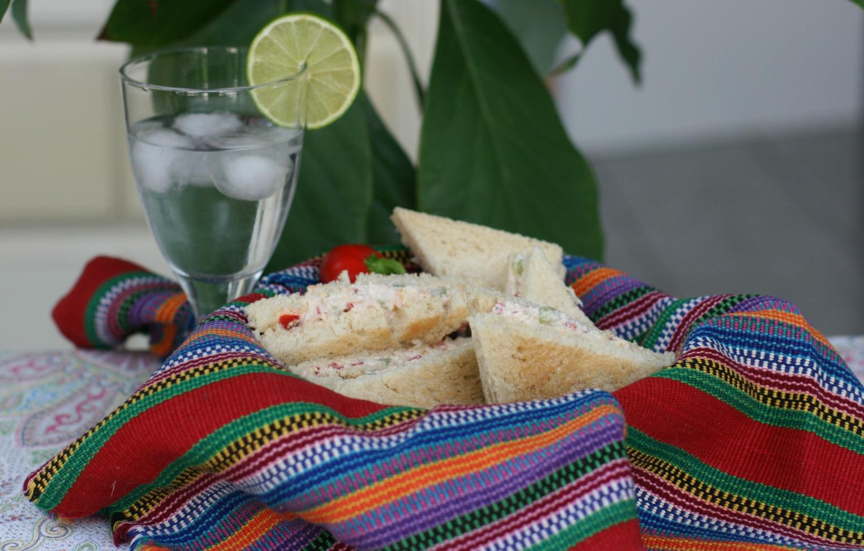 Hähnchensandwich-Sandwich de Pollo - Chicken Sandwich -