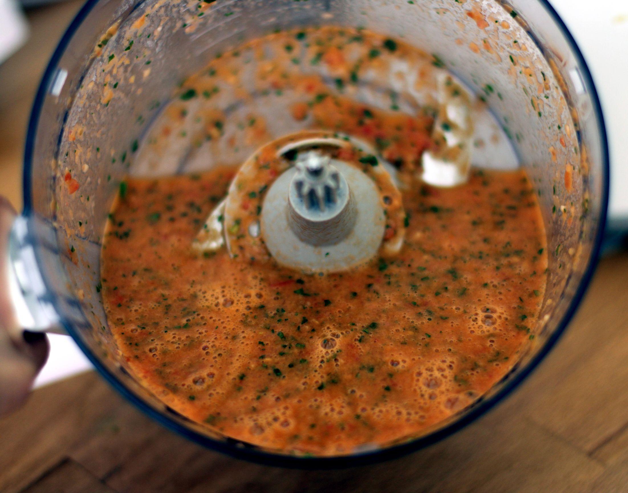 Rohe Tomatensoße