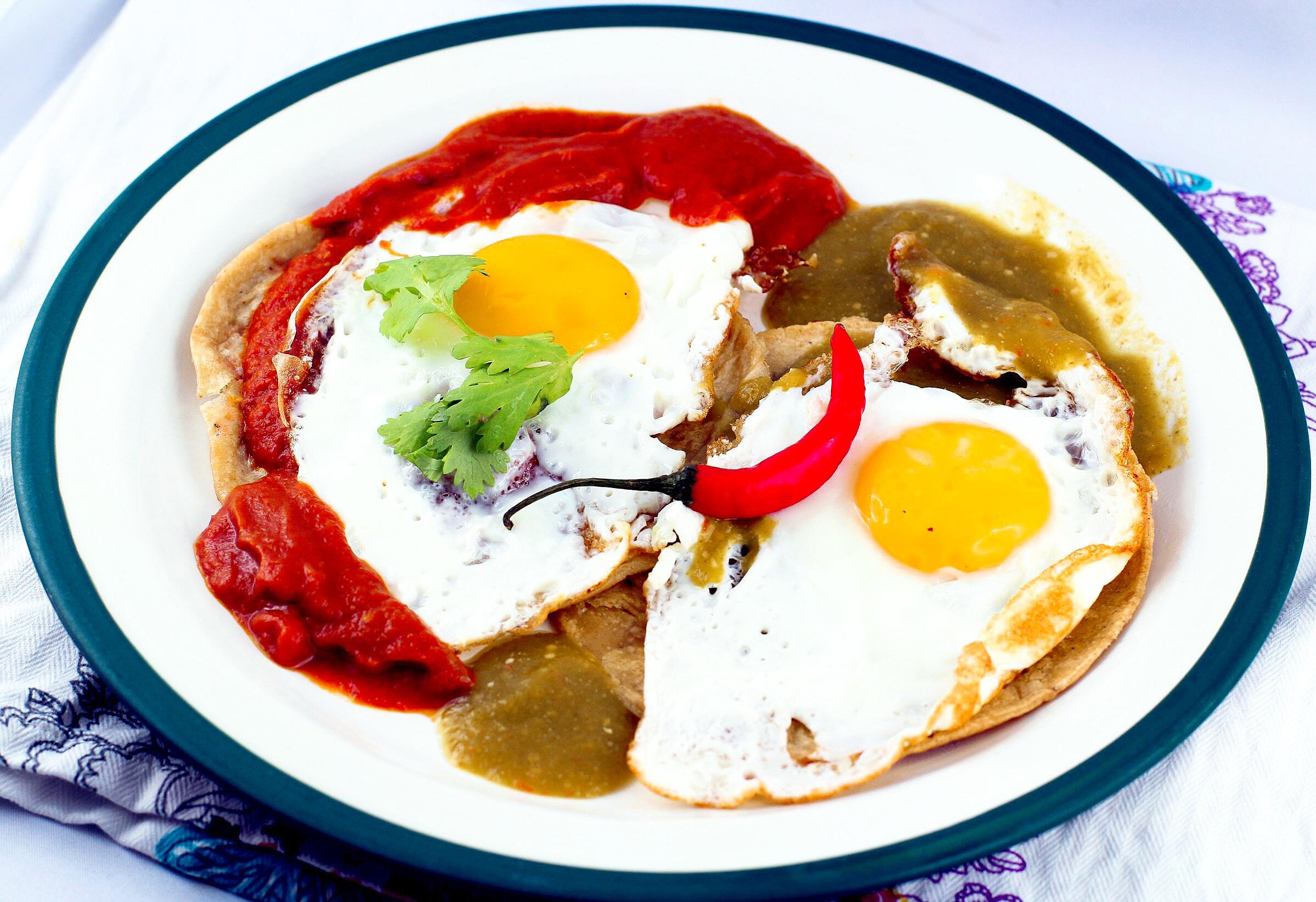Huevos divorciados - Geschiedene Eier