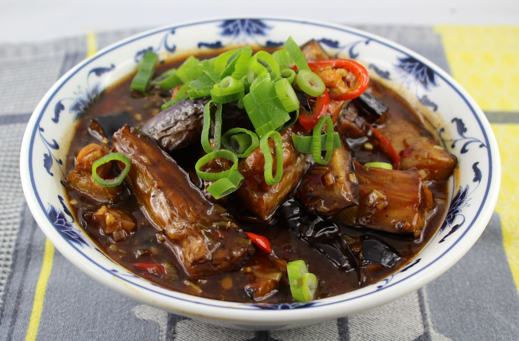 Aubergine im Sichuan Style - The Food Accomplice