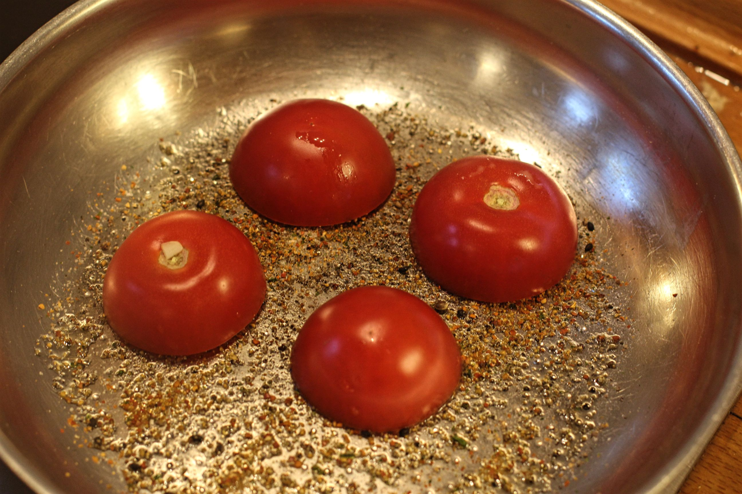 Tomaten zum Rösten