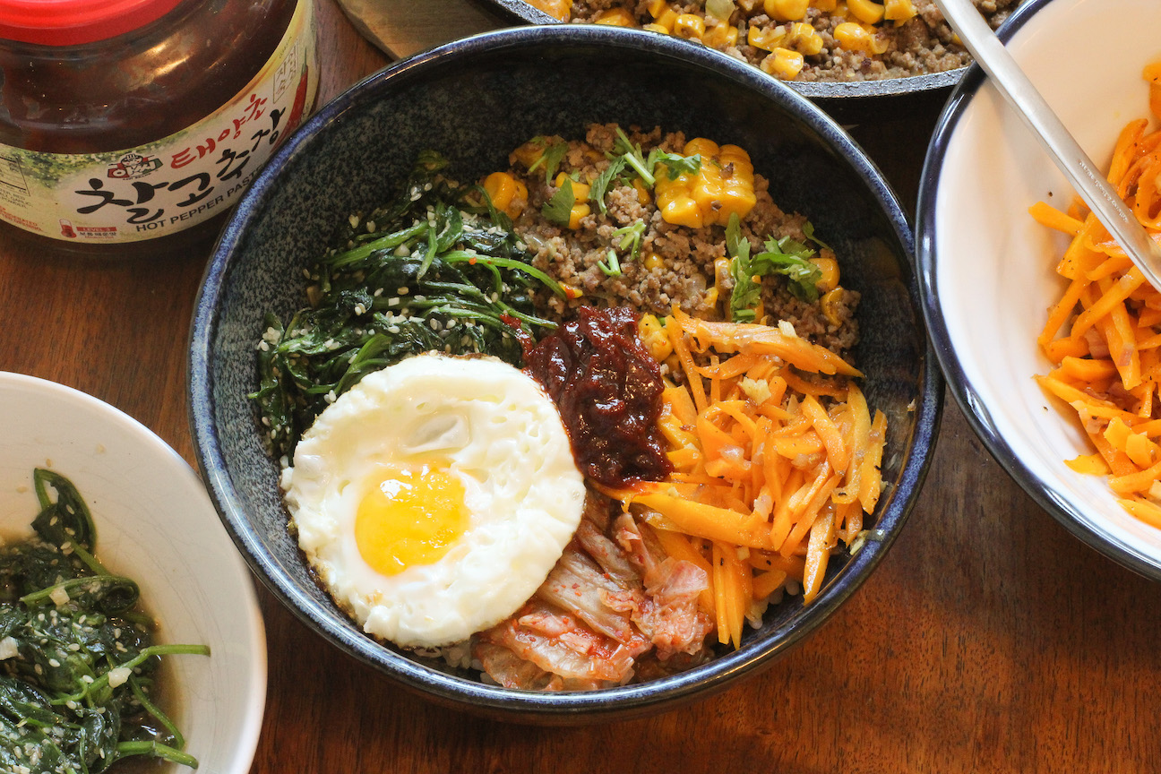 Bibimbap - Korean Mixed Rice Bowl