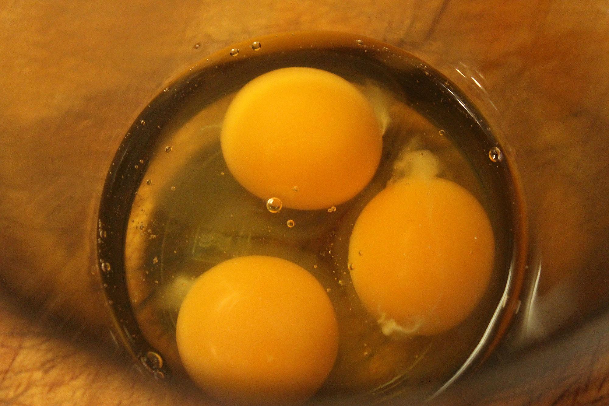 Eier für die Blitzmayonnaise