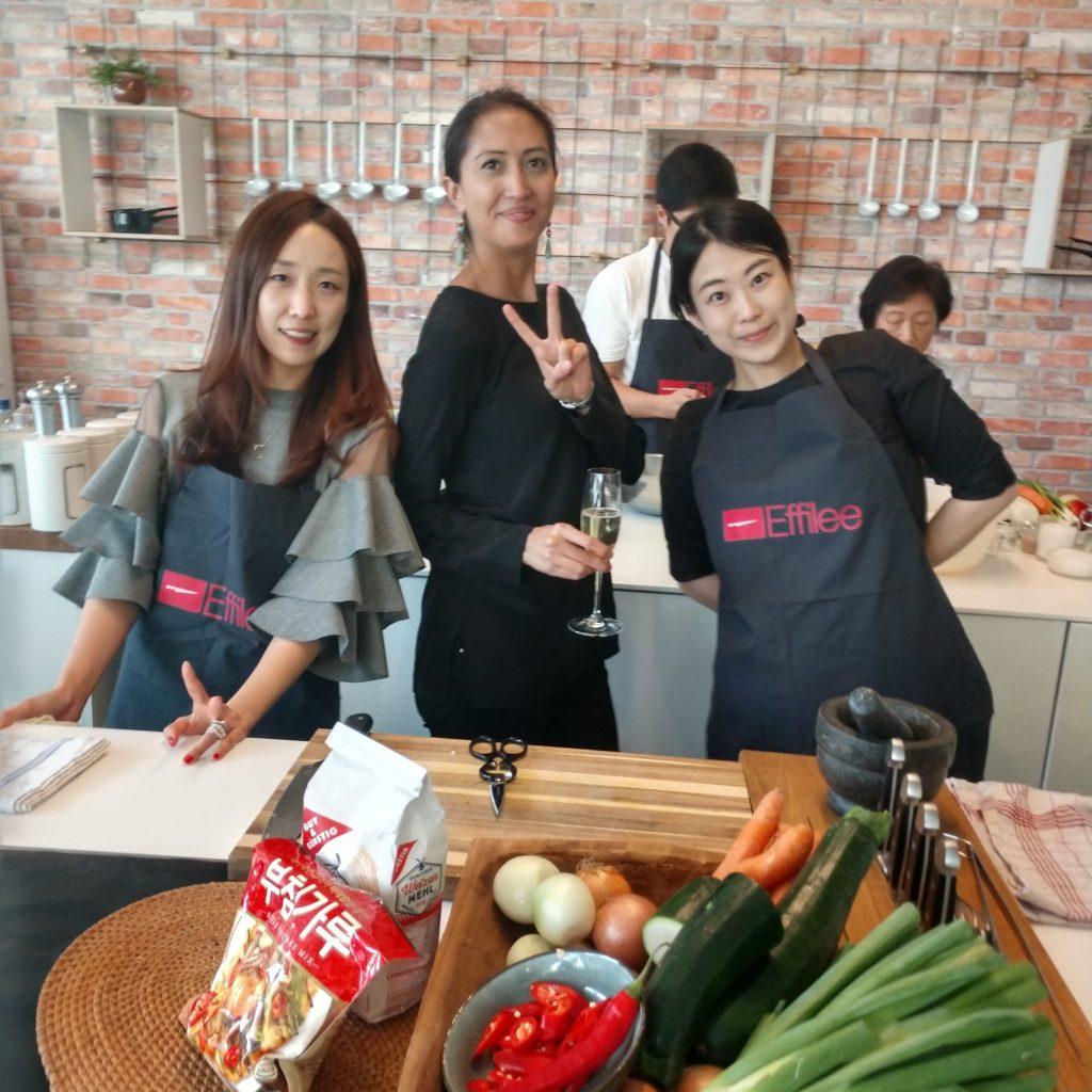 Koreanischkochkurs der Effilee